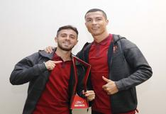 Cristiano Ronaldo tuvo gran gesto con su compañero en Portugal, Bernardo Silva