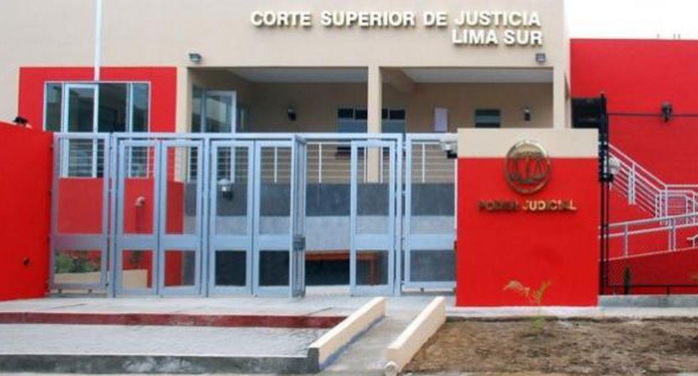 Un hombre realizó disparos al interior de la Corte Superior de Justicia de Lima Sur, en Villa María del Triunfo, contra un testigo de un proceso por robo agravado. (Foto: Captura/Canal N)