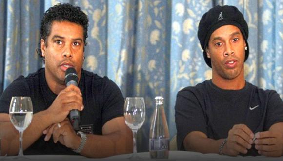 Al hermano de Ronaldinho, Roberto de Assis Moreira, el Ministerio Público de Porto Alegre le incautó varios bienes. (Foto: AFP)