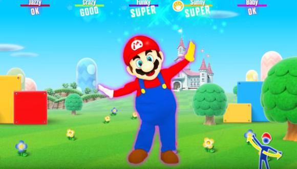 Mario baila sus canciones más conocidas en Nitendo Switch. (Foto: captura de pantalla)