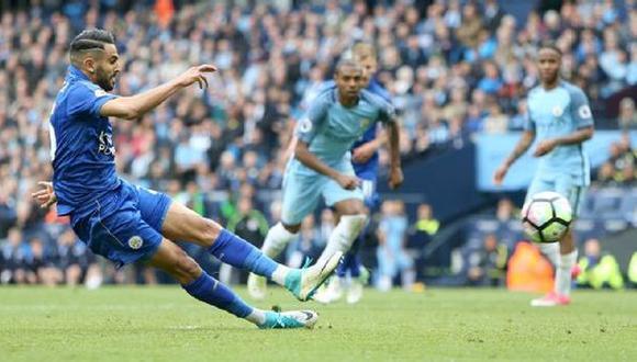 Mahrez anotó de penal, pero lo anularon por este motivo [VIDEO]