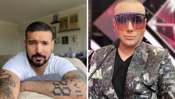 Ezio Oliva denunció al maquillador Carlos Cacho hace más de cinco años. (Foto: Instagram @eziooliva / @cachomakeup)