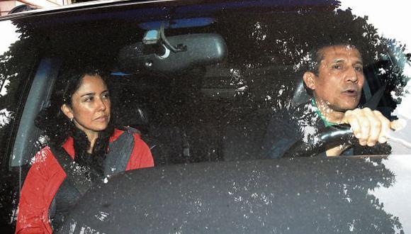 El 13 de este mes, el Poder Judicial ordenó 18 meses de prisión preventiva para Heredia y Humala. La pareja se entregó a la justicia el mismo día que se dictó la medida. (Foto: Dante Piaggio/El Comercio)