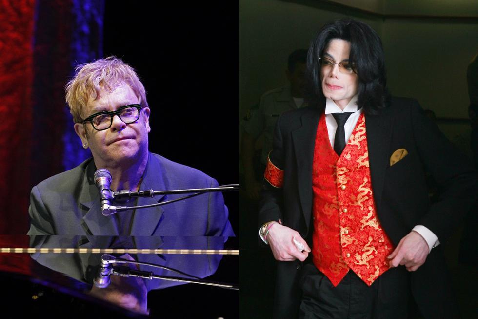 Elton John y Michael Jackson