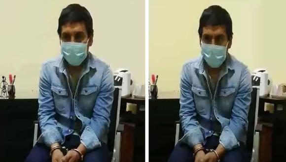 Edmundo Amao Sayas confesó a la policía que roció ácido a al menos 20 mujeres en el Metropolitano. (PNP)