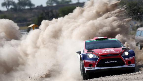 Nicolás competirá por primera vez en el WRC2. (Foto: Andrés Lino)