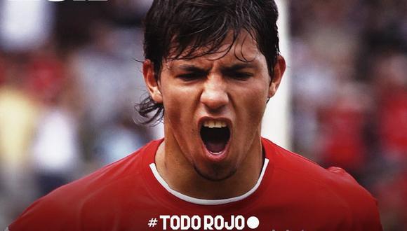 Agüero debutó muy joven con Independiente. A nivel internacional lo hizo ante Cienciano. (Foto: Independiente)