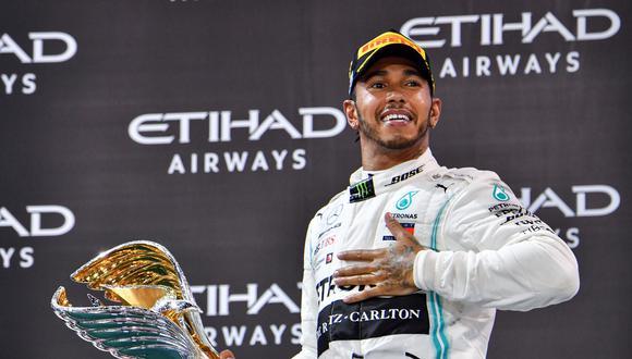 Lewis Hamilton, hexacampeón del mundo de Fórmula Uno, afronta la nueva temporada con el desafío de igualar los siete títulos sin par del alemán Michael Schumacher. (AFP)