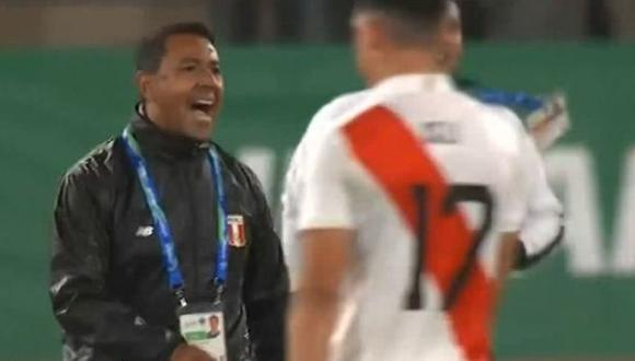 El juez chileno añadió cinco minutos de juego a la etapa complementaria del compromiso, pero terminó otorgando casi ocho. Honduras empató en ese lapso. (Captura: TV Perú)