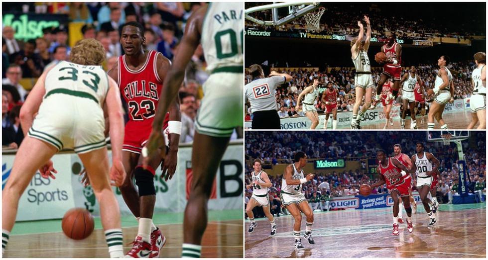 El día que Michael Jordan marcó el récord de 63 puntos en un partido de playoffs en la NBA. (Video: NBA)