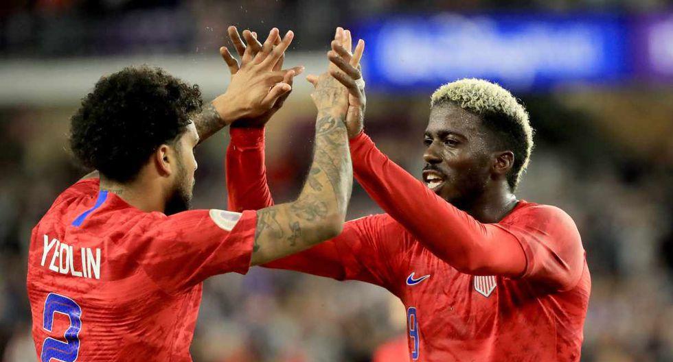 Estados Unidos y Cuba se enfrentan en la Liga de Naciones de Concacaf . (Foto: AFP)