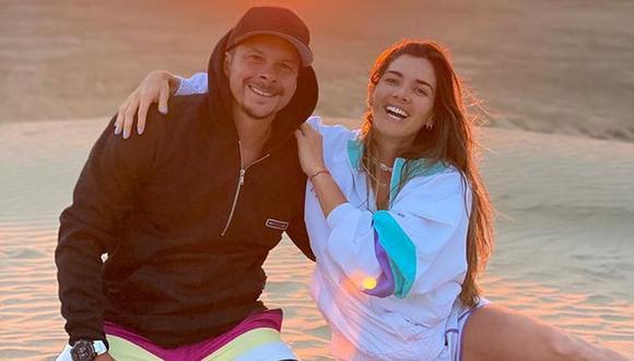 Korina Rivadeneira revela que le gustaría quedar embarazada nuevamente a finales de 2021. (Foto: @mariohart)