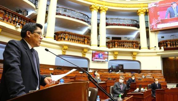 El Congreso presentó mociones para interpelar al primer ministro Zeballos y a parte de su gabinete. (Foto: PCM)