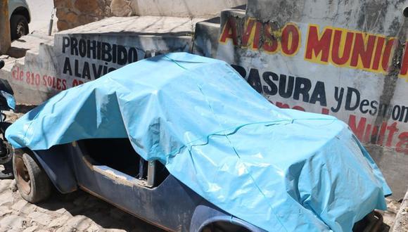 Cajamarca: municipio retirará vehículos en desuso estacionados en la vía pública. (Foto: MPC)
