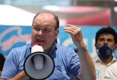 "Tribunal de Honor solicita a Rafael López Aliaga pedir disculpas públicas por frases contra Pedro Castillo durante ""Marcha por la paz"""