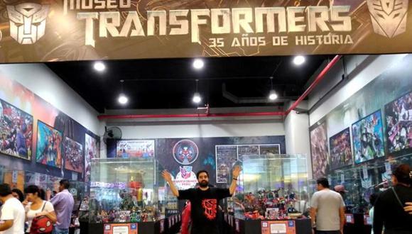 David Buenaño (1980) es fanático de la franquicia desde los seis años y fundador de la comunidad Transformers Perú.  (Foto: Difusión)