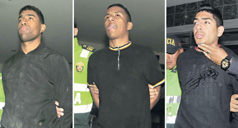 Marco Pérez Anderson, Alexander Martinez y Aleri Canelón fueron detenidos el 7 de noviembre. Tres días después escaparon de la sede de la Depincri (Foto: José Caja/archivo)