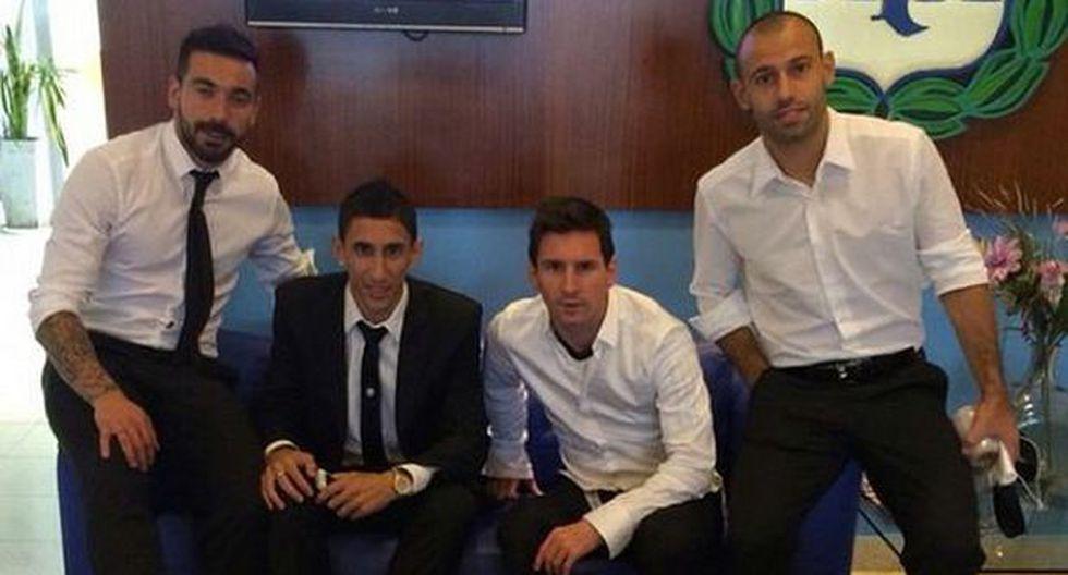 Lionel Messi agradece a los hinchas albicelestes por el apoyo