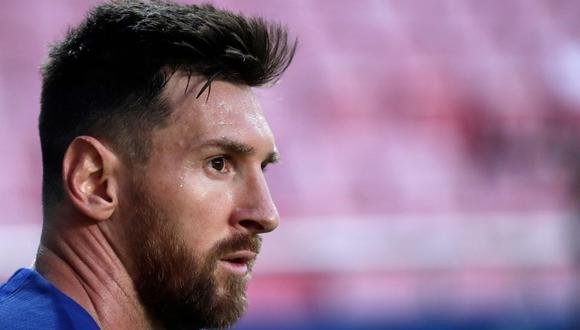 Lionel Messi informó al FC Barcelona que no quiere seguir en el club. Las primeras noticias lo acercan a clubes de la talla del Manchester City. (Foto: AFP)