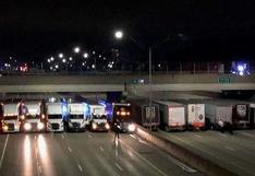Twitter: Camioneros se unen y evitan un suicidio en Michigan