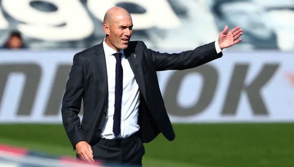 Zinedine Zidane habló en la previa del Real Madrid vs. Atlético de Madrid | Foto: REUTERS