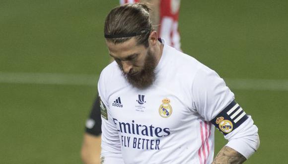 Ramos venía de ser titular ante Elche y Atalanta tras una lesión de rodilla. (Foto: AFP)