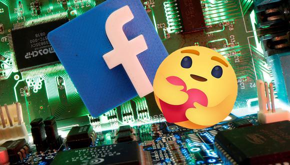 """""""Me importa"""", una reacción de facebook que nació antes de tiempo por la pandemia del coronavirus. (Foto: Reuters / Composición: El Comercio)"""