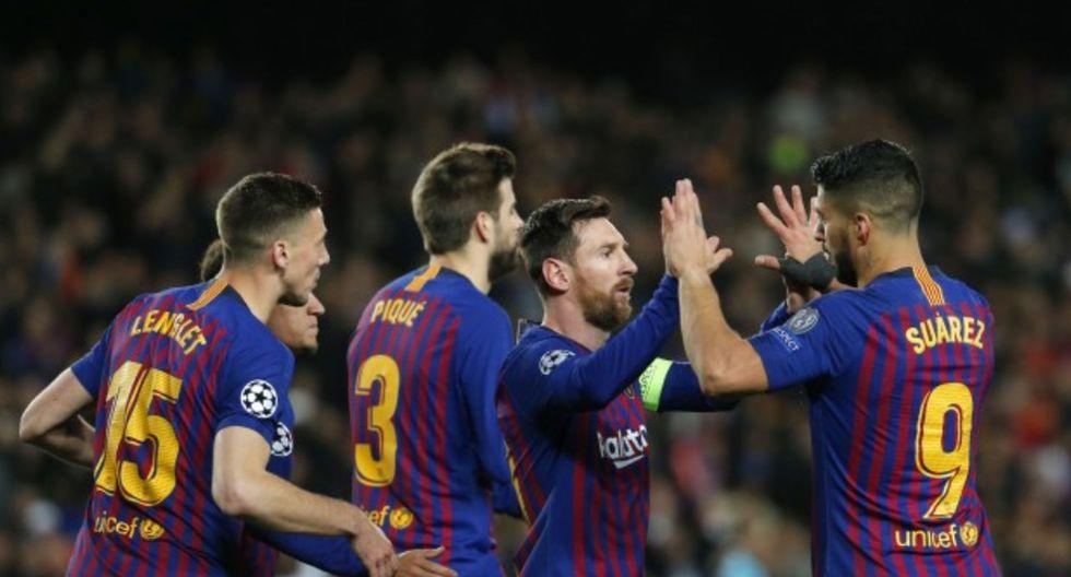 El F.C. Barcelona es el equipo que mejor paga a nivel mundial, según el Global Sports Salaries Survey 2018. Los jugadores blaugranas reciben, en promedio, US$13,7 millones anuales. (AFP)