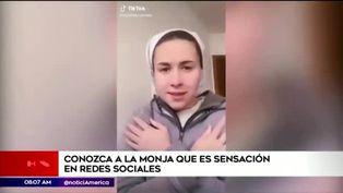 Josefina, la monja 'Tiktoker' causa furor en redes sociales
