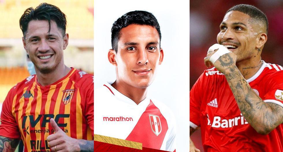 Paolo Guerrero, Alex Valera y Gianluca Lapadula son las cartas de gol de Ricardo Gareca. (Fotos: EFE / FPF / AFP)