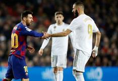 Real Madrid vs. Barcelona EN VIVO: fecha, horarios y guía de canales para ver el clásico español por LaLiga Santander
