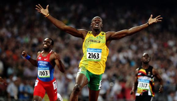 Usain Bolt logró dos récords mundiales en 100 y 200 metros planos en Bejin 2008. (Foto: Olympic Channel)