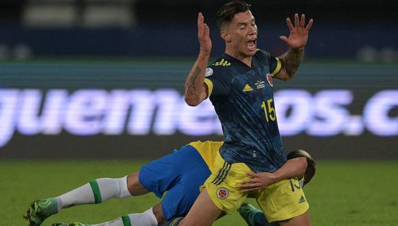 Mateus Uribe quedó descatado en Colombia para lo que queda de Copa América. (Foto: AFP)