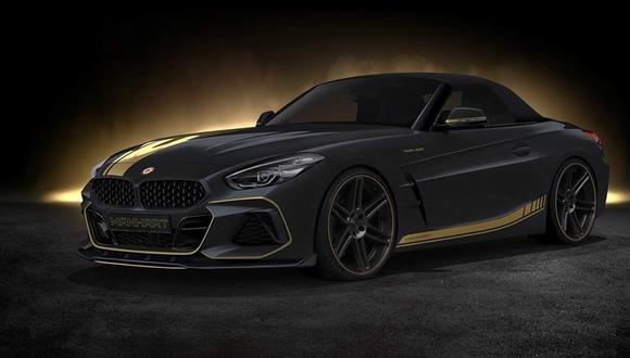 El nuevo BMW Z4 de Manhart destaca por su robustez, personalidad y nueva imagen deportiva. (Foto: Manhart).
