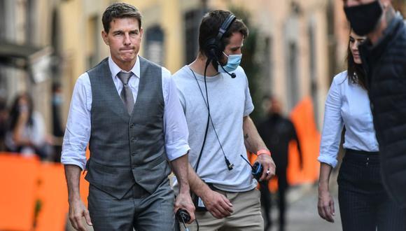 "Tom Cruise explota en el rodaje de ""Mission Impossible"". (Foto: AFP/Alberto Pizzoli)."