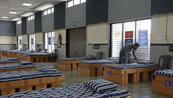 El establecimiento cuenta con 85 camas para enfermos, además de una unidad de cuidados intensivos con 10 camas más y ventiladores artificiales. (Foto: AFP)
