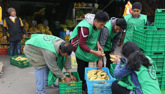 El Banco de Alimentos recoge víveres y productos de limpieza una semana antes de que venzan y los distribuye el mismo día a sus beneficiarios, precisa Daniela Osores, gerenta general de la ONG. (Foto: Banco de Alimentos Perú)