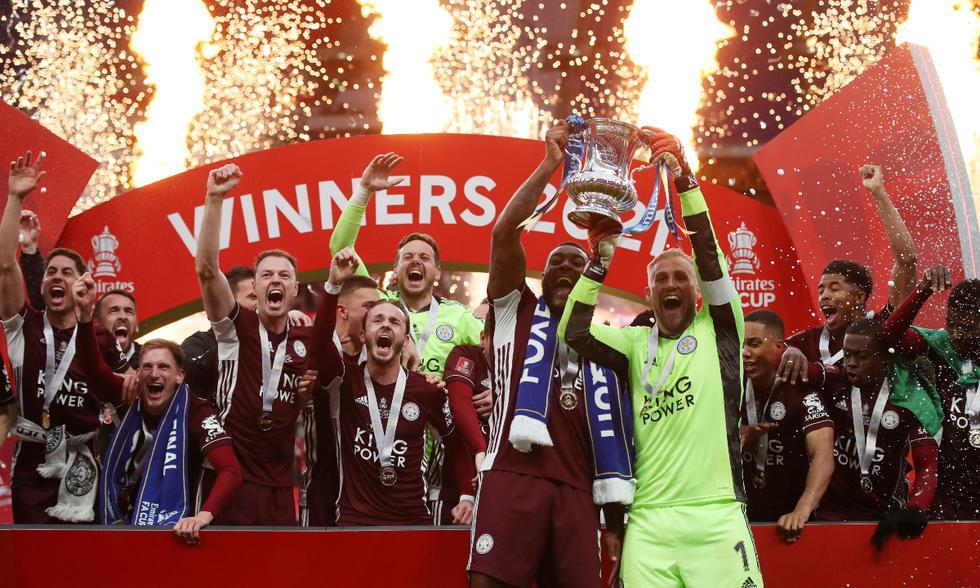 Chelsea vs. Leicester: las imágenes de la final de la FA Cup en Wembley | Foto: REUTERS