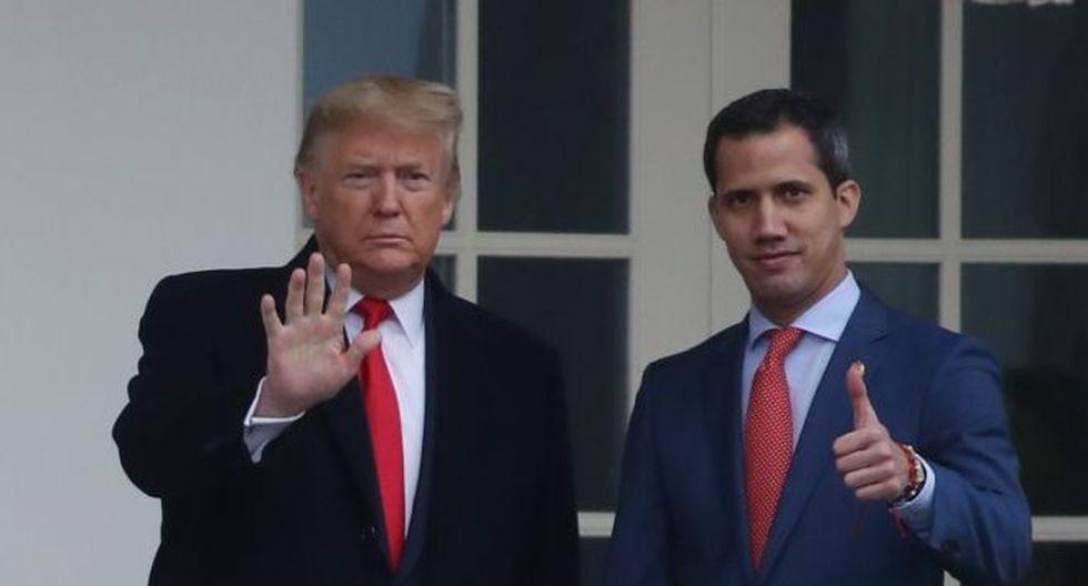 Juan Guaidó necesitaba que Donald Trump lo recibiera mucho más que el presidente estadounidense. (Foto: Getty Images, vía BBC Mundo).