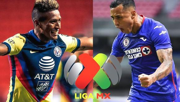 América y Cruz Azul se enfrentan por la punta de la Liga MX (Foto: Club América/Imago 7))