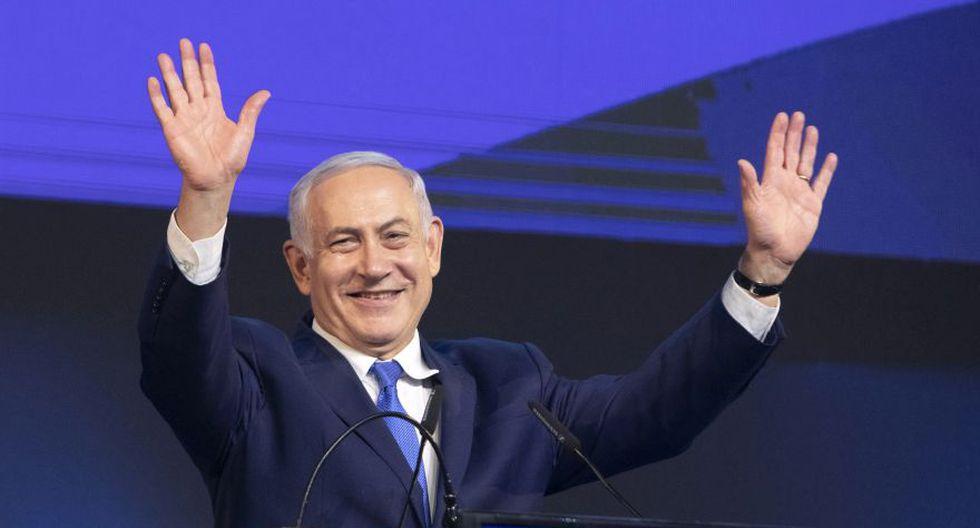 """Netanyahu fue inculpado en noviembre por corrupción, fraude y abuso de confianza en tres casos, que denunció como """"falsas acusaciones"""". Sus rivales en Likud, con Saar a la cabeza, llamaron a celebrar elecciones internas. (Foto: Archivo/Bloomberg)."""