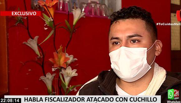 Jeison Ortega Ávalos cuestionó las críticas que ha recibido en las redes sociales. (24 Horas)