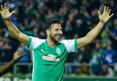 Bundesliga recordó goles de Guerrero, Farfán y Pizarro para saludar a Perú por Fiestas Patrias