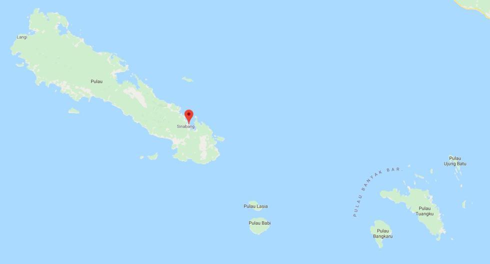Indonesia se asienta sobre el llamado Anillo de Fuego del Pacífico, una zona de gran actividad sísmica y volcánica. (Google Maps)