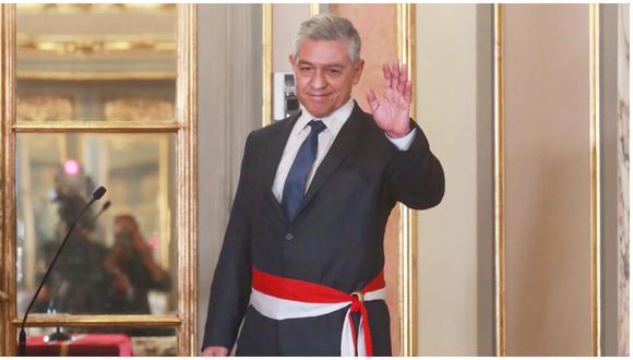 José Élice juramentó al cargo en una ceremonia realizada en Palacio de Gobierno.