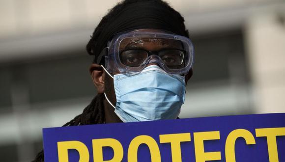 Regresa el uso obligatorio de mascarilla en San Francisco debido a la variante Delta del coronavirus. (Foto de Patrick T. Fallon / AFP).