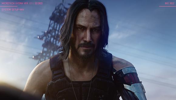 Keanu Reeves estará presente en Cyberpunk 2077. (Captura de pantalla)