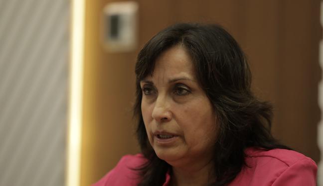 La vicepresidenta de la República y ministra de Desarrollo e Inclusión Social, Dina Boluarte, es incluida en investigación por lavado de activos. (Foto: archivo GEC)