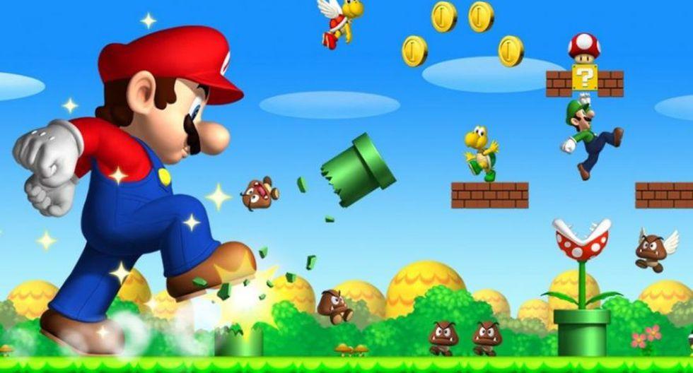 New Super Mario Bros Wii (2009). Cómo su nombre lo indica esta entrega fue creada para Nintendo Wii.