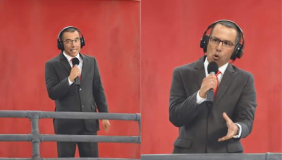 """Daniel Peredo recreado digitalmente para que aparezca en el Estadio Nacional. (Foto: """"Perú, te quiero"""")"""